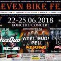 Status Quo i Paradise Lost gwiazdami Eleven Bike Fest 2018 - koncerty, zlot motocykolowy, zlot muzyczno-motocyklowy, hard rock, rock