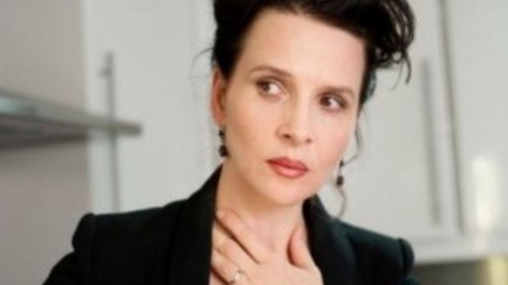"""Juliette Binoche na premierze filmu """"Sponsoring"""""""