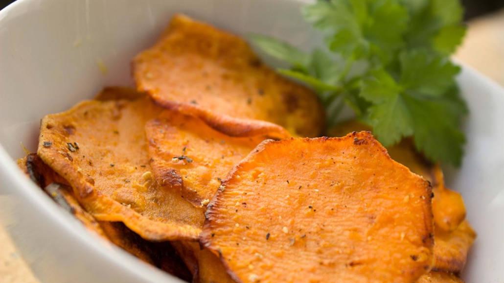 Przepis na chipsy z batatÃłw