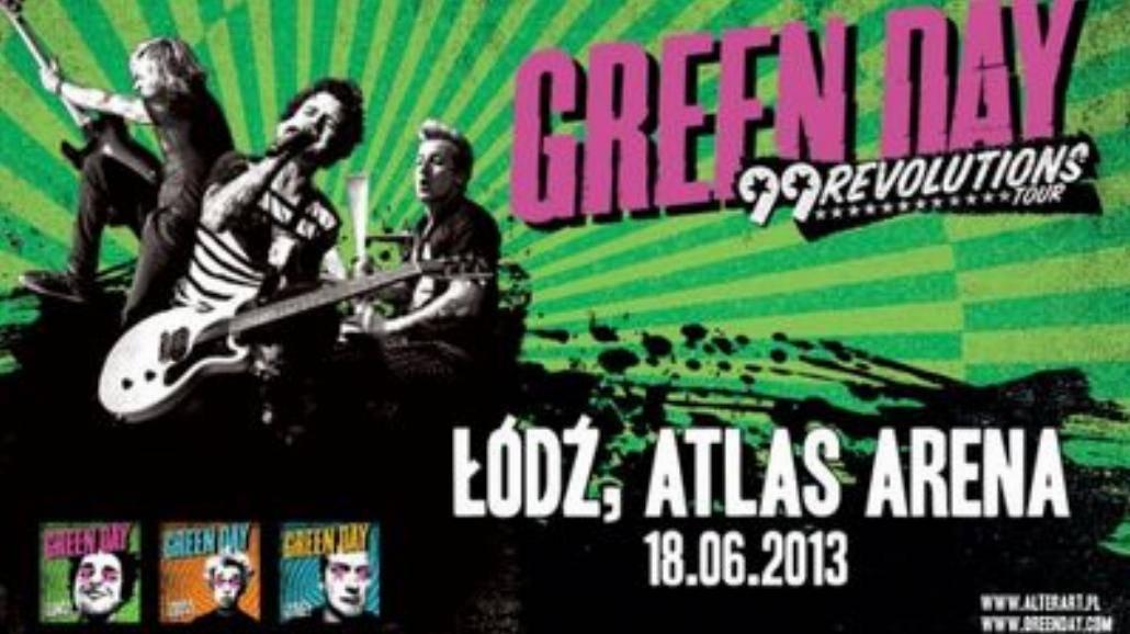 Green Day dzisiaj w Łodzi