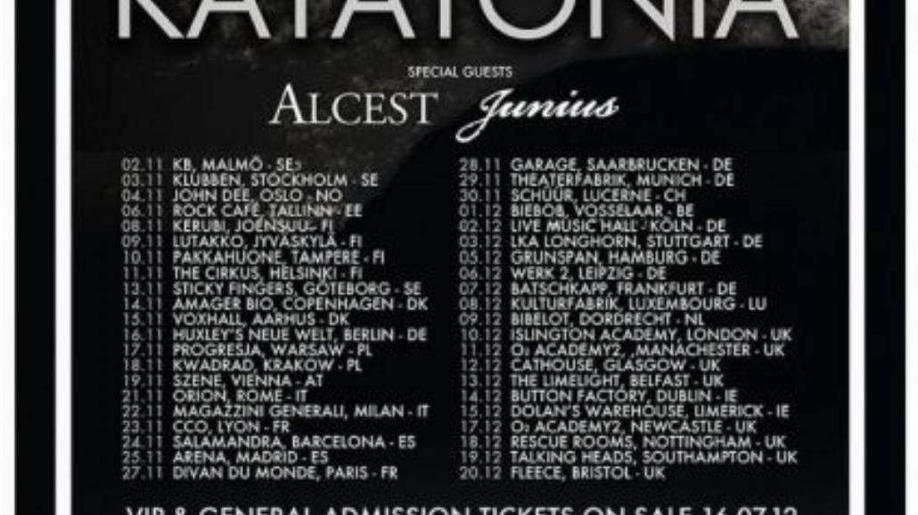Katatonia dwukrotnie w Polsce