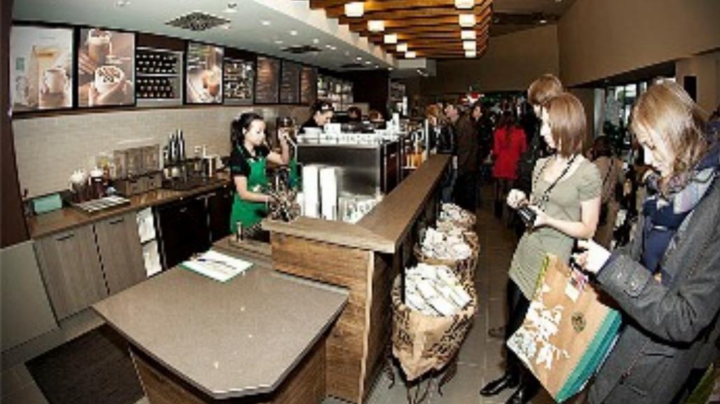 Pierwszy Starbucks w prawobrzeżnej Warszawie