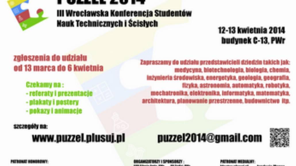 """Konferencja """"Puzzel 2014"""""""