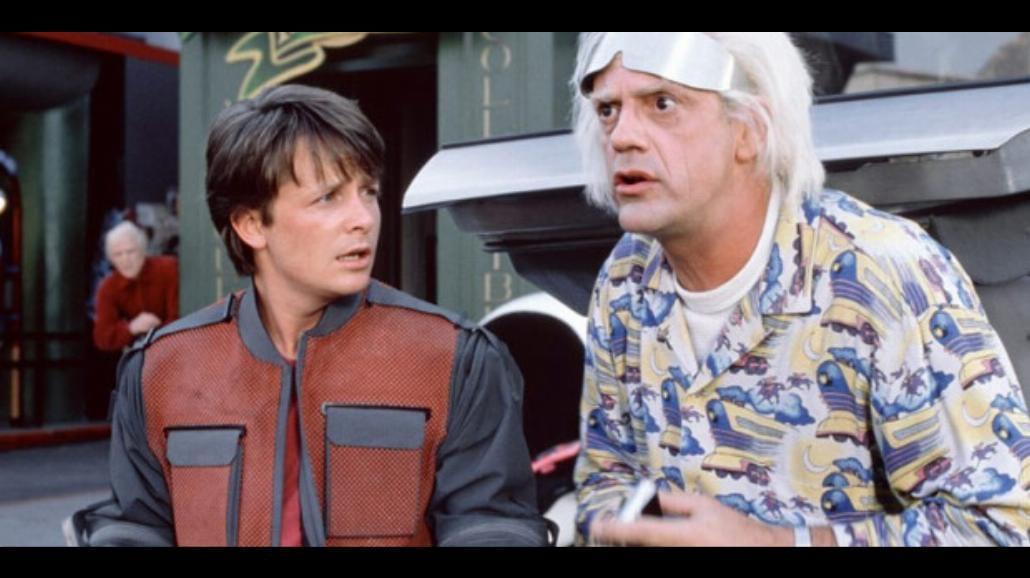 Jest 21 października 2015! Marty McFly wróci do przyszłości