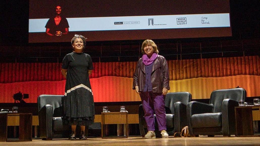 Swietłana Aleksijewicz i Olga Tokarczuk