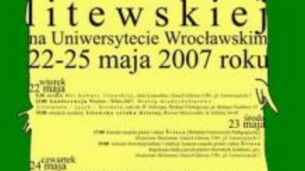 Dni i noce, noce i dnie z Litwą