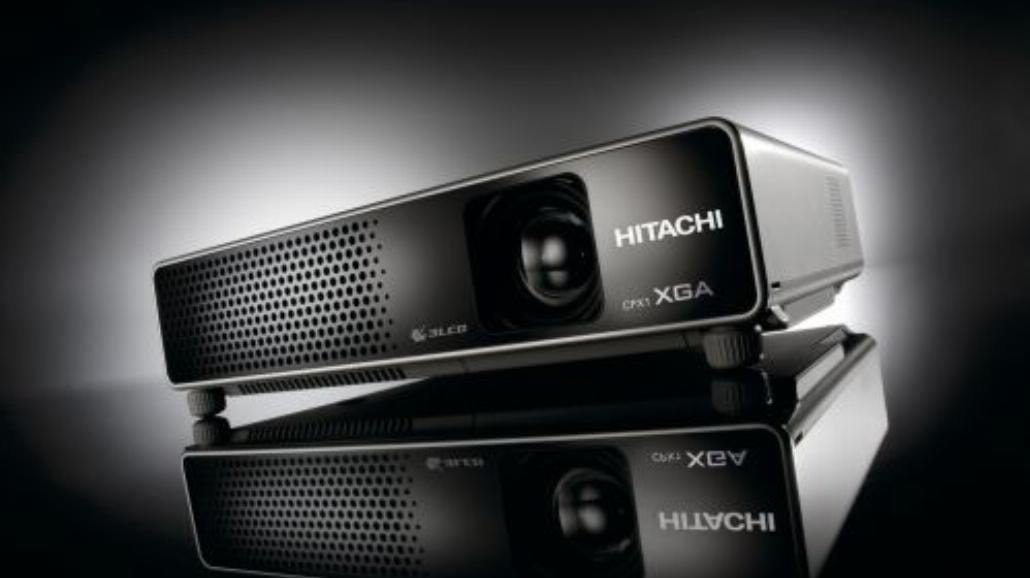 Nowy projektor LCD Hitachi CPX1