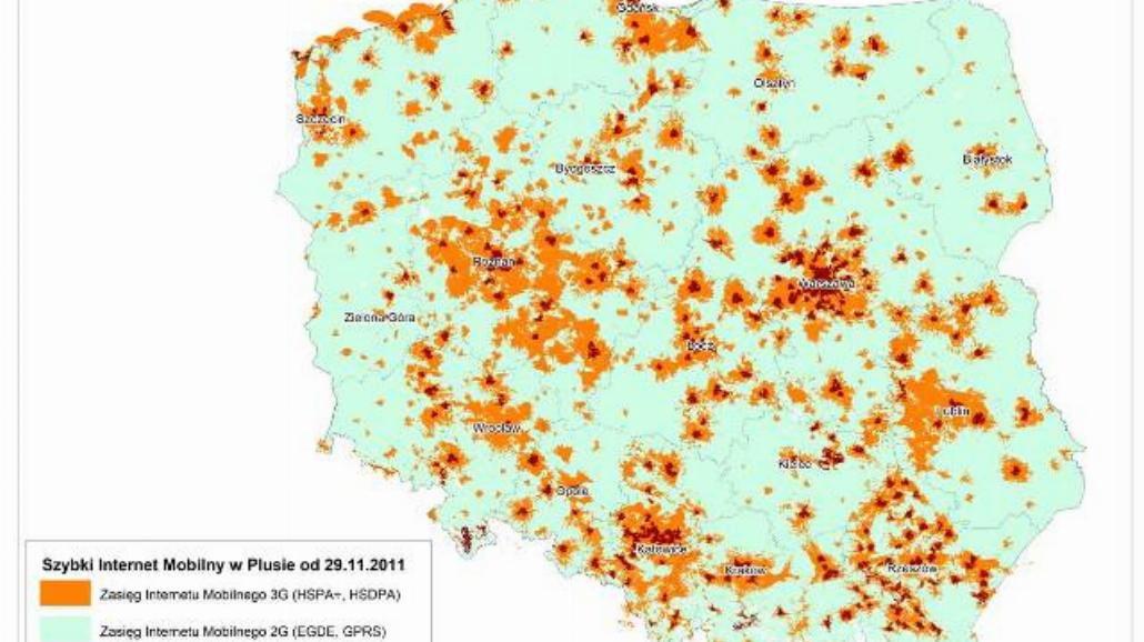 Technologia LTE w Polsce. Zobacz mapę!