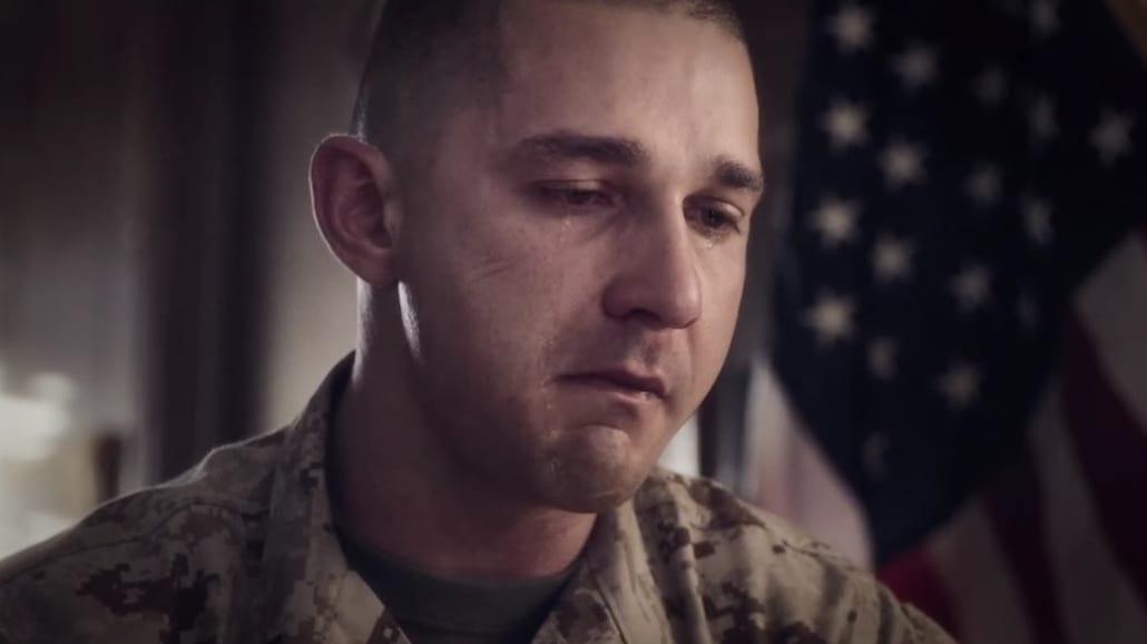 """Shia LaBeouf, Gary Oldman i Kate Mara w dramacie wojennym """"Man Down"""" [WIDEO]"""