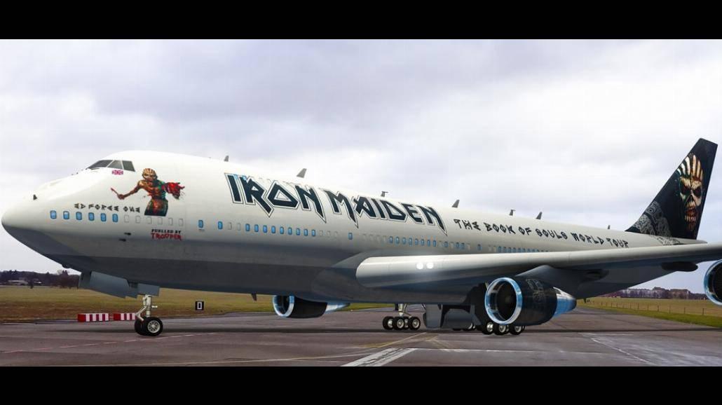 Iron Maiden wyruszą w trasę samolotem. Zobaczcie jakim!