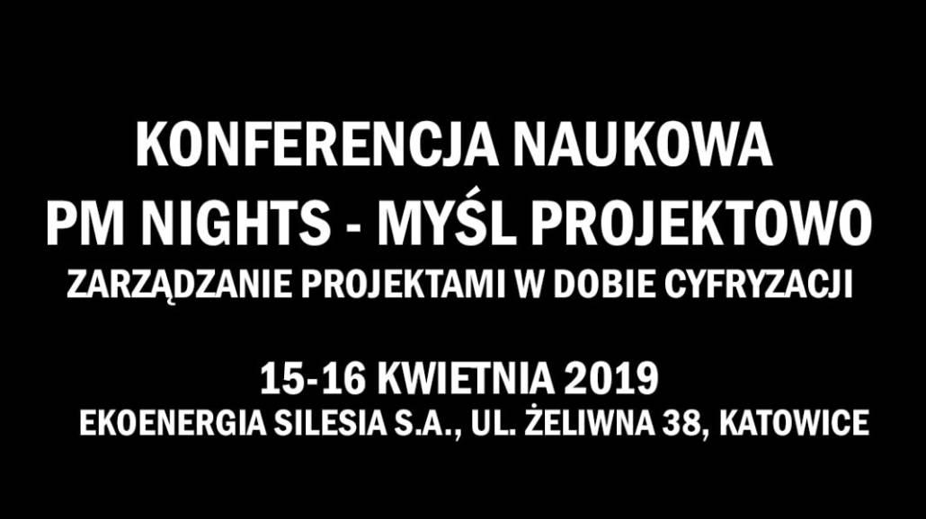 Konferencja odbędzie się w dniach 15-16 kwietnia 2019 roku.