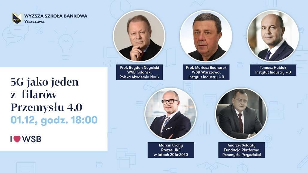 WSB w Warszawie - 5G konferencja