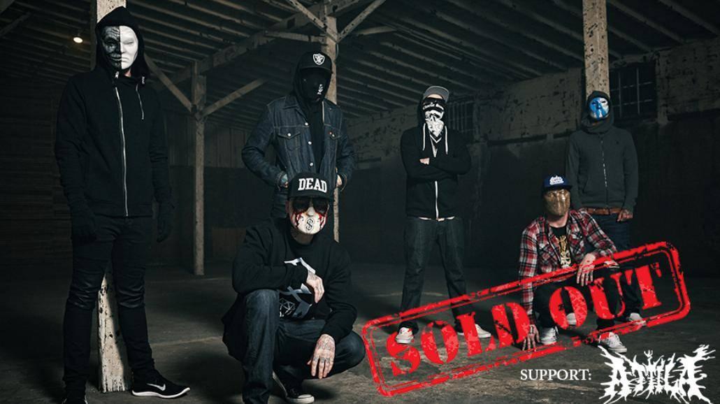 Hollywood Undead już 3 kwietnia w Warszawie!