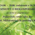 Tydzień biogospodarki w Krakowe - cykl rozmów