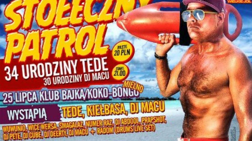Urodziny Tede w Mielnie już w niedzielę