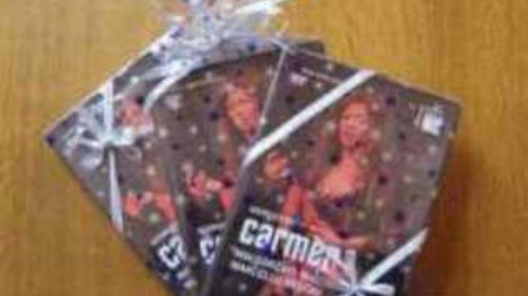 """DVD """"Carmen"""" już w sprzedaży!"""