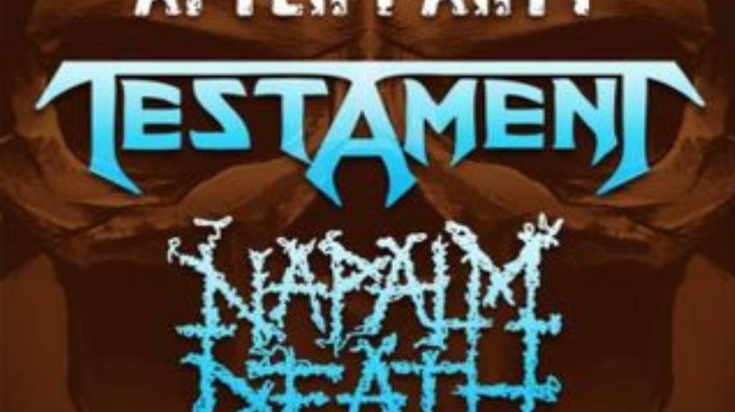 MetalFest: Testament na after party