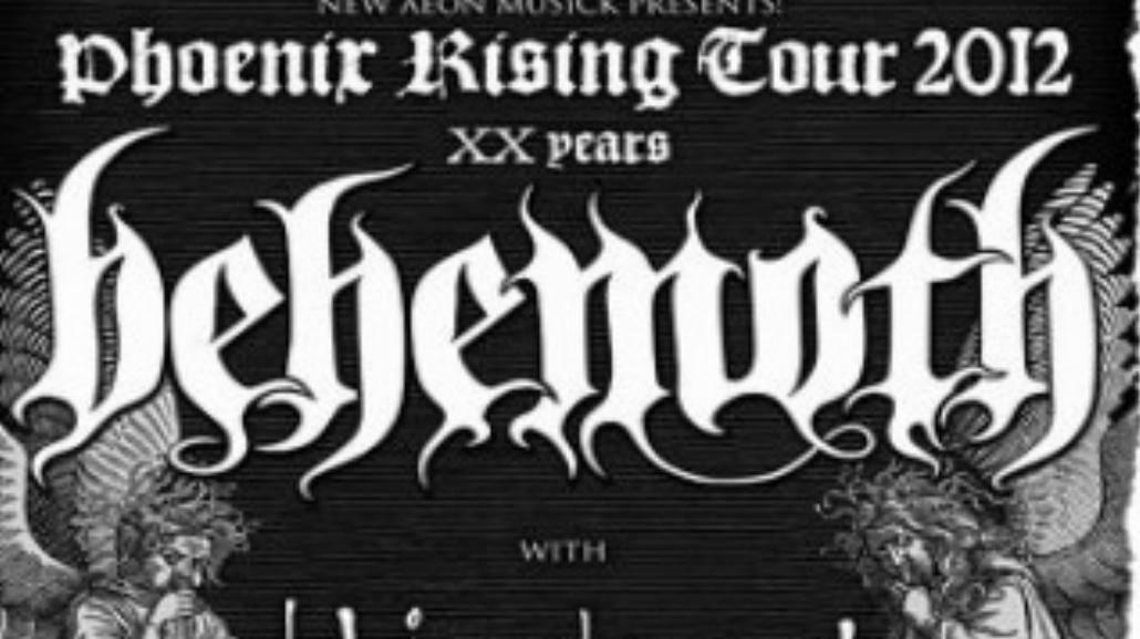 Zobacz, gdzie zagra Behemoth w 2012 roku