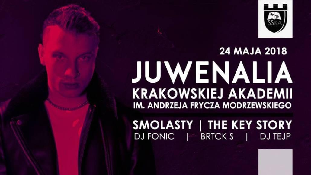 Zobacz peÅ'ny program JuwenaliÃłw Krakowskiej Akademii 2018!
